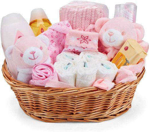 Baby shower, girl, prezent dla dziewczynki , zestaw dla noworodka