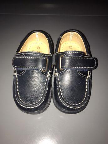 Sapatos de vela de bebé
