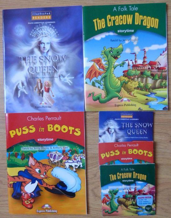 Książki w języku angielskim do nauki + DVD + kalendarz gratis Wyry - image 1