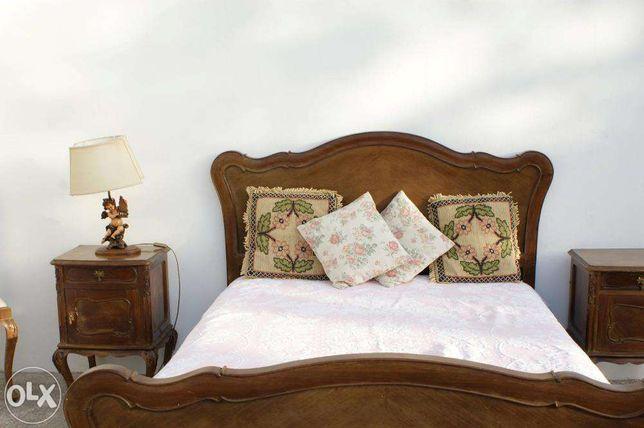 Mobília quarto completa estilo Queen Anne
