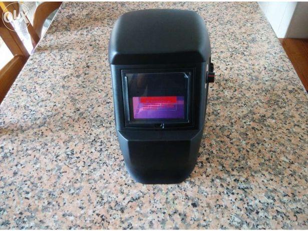 Máscara soldar eletrónica automática solar