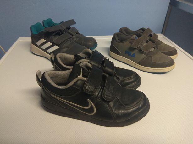 buty dziecięce adidas nike fila
