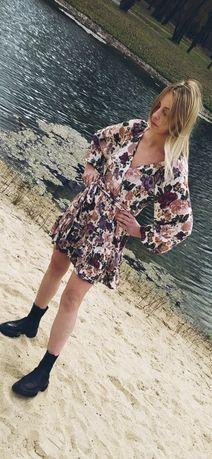 Sukienka zara laurella wildheart leila flowers S
