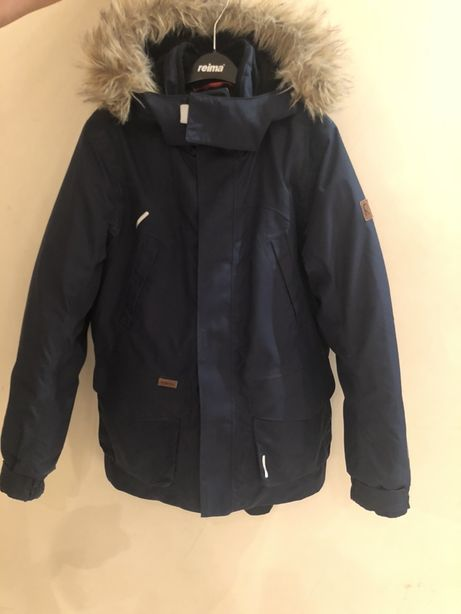 Продам зимнюю пуховую куртку Reimatec+ Serkku размер 152