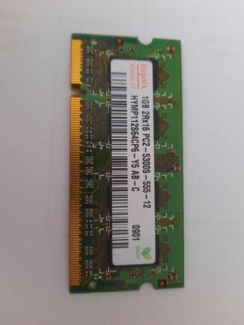 Память Hynix 1GB PC2 5300s