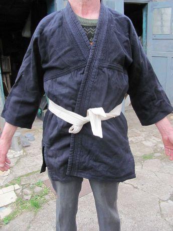 Куртка кимоно времен СССР черного цвета