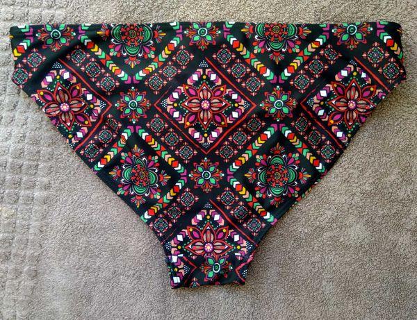 Dół od stroju kąpielowego bikini 2 wzory wycięcia Colours of the world