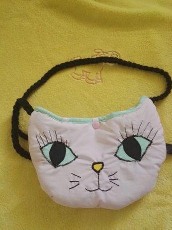 Torba torebka na ramię kotek dla dziewczynki