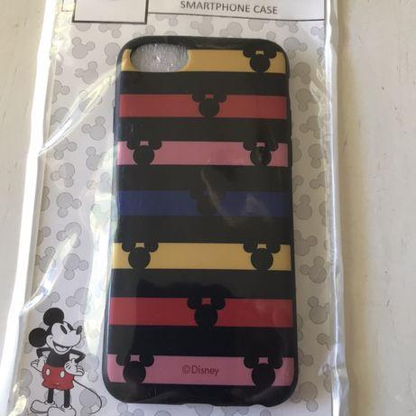 Capa iPhone 6/6s/7/8 Disney preta