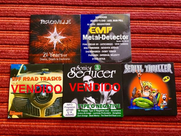Varios cds originais