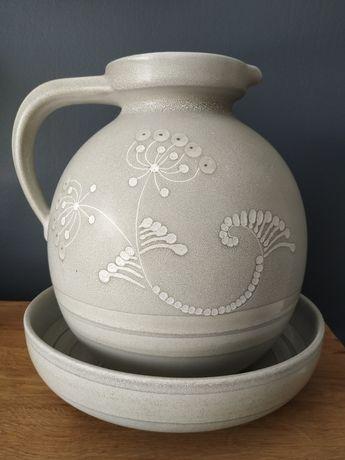 KMK Manuell ceramika dzban + misa sprzedam