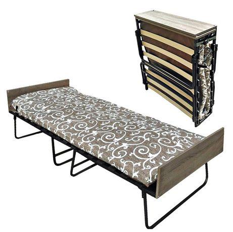 Раскладушка-кровать/Раскладушка с матрасом на ламелях