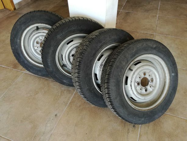 4 Jantes com pneus