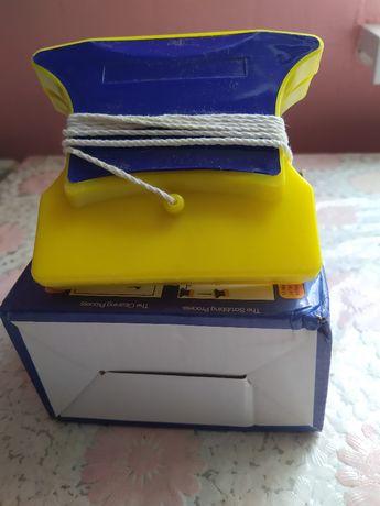 Магнитная щетка для двухстороннего мытья стекол jan jun sanitary ware