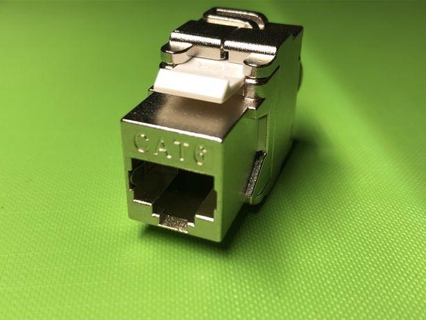 Сетевой модуль Inkton Cat 6 Keystone Jack RJ45 разъем