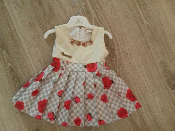 Платье 3-9 месяцев