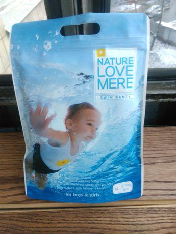 Памперси-трусики для плавання, NATURE LOVE MERЕр.ХL на 12-16кг