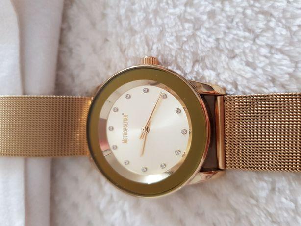 Zegarek damski Metropolitan złoty