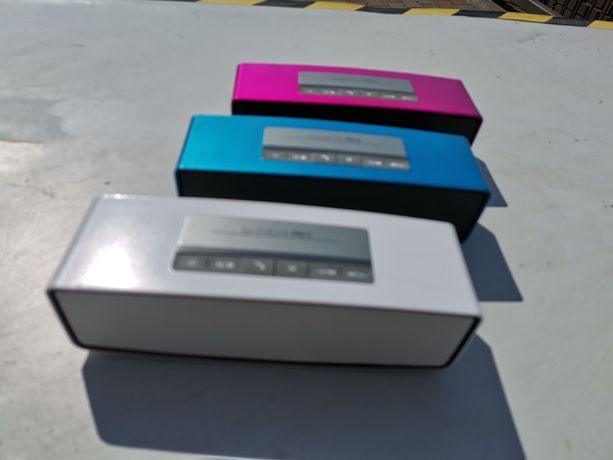 Przenośny Głośnik Bluetooth z USB radio FM