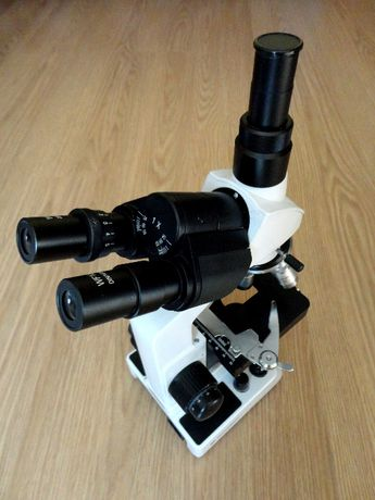Mikroskop Bresser Researcher Trino 40x-1000x Dark Field + Kamera 5 MP