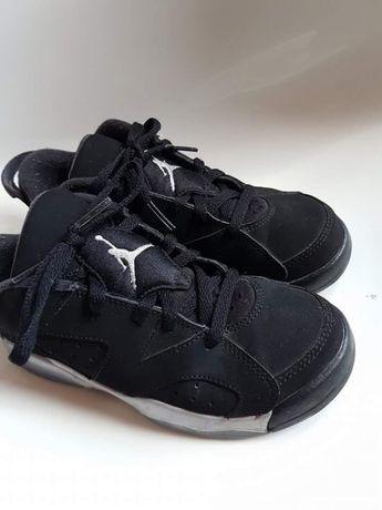 Jordan skóra r.31,5piękne czarne buciki