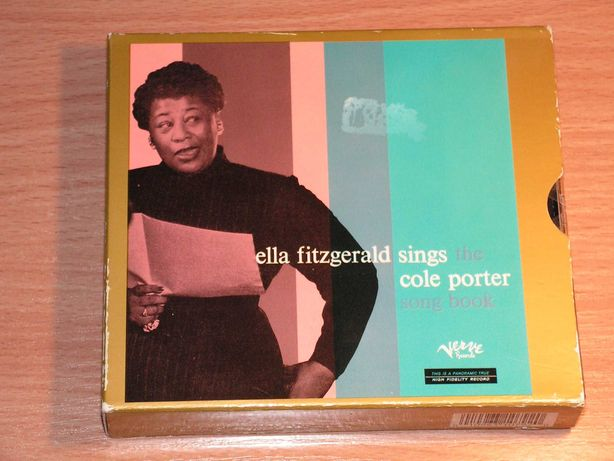 Ella Fitzgerald - Sings The Cole Porter Song Book DCC gold 2cd box