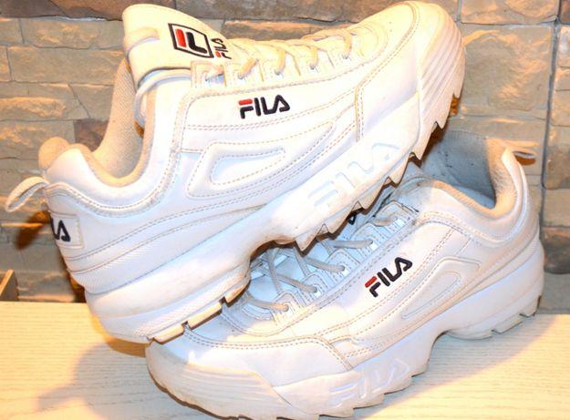 Крутые фирменные термо-кроссовки Фила Fila, кожа