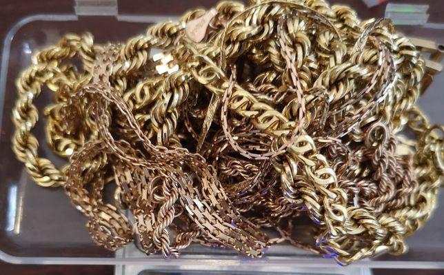 Złom złota 750 18K