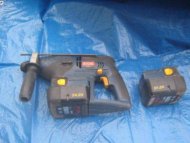 Wiertarka udarowa akumulatorowa mlotowiertarka RYOBI 24V