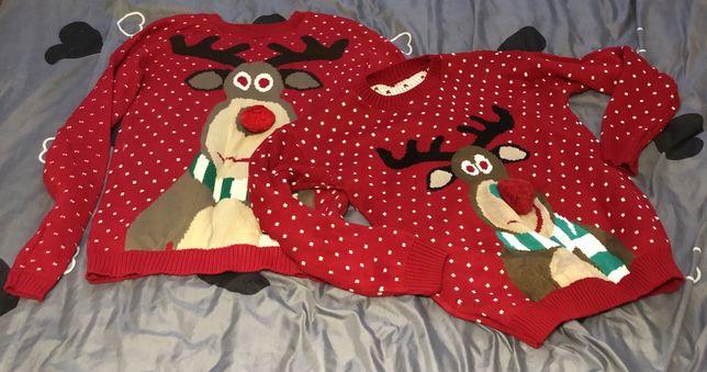 Sweterki świąteczne dla par *idealne na sesje* M&L