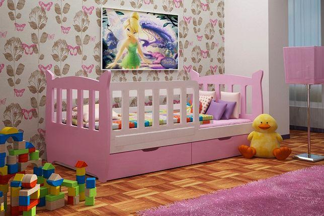 okazja łóżko dla dziecka MIKY z szufladami i materacem