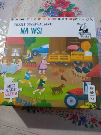Puzzle obserwacyjne na wsi