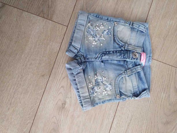 Spodenki 80 Elastyczny Jeans