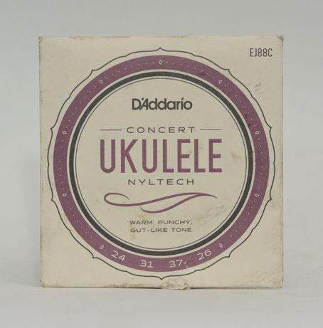 D'Addario EJ88C struny do ukulele koncertowego