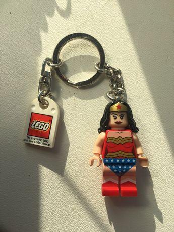 Lego Wonder DC Woman Брелок Чудо Женщина
