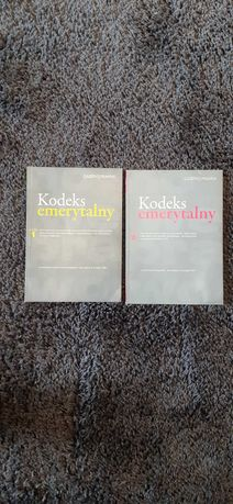 Książki kodeks emerytalny 1 i 2