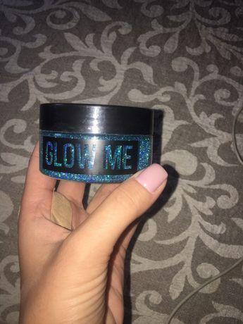 Глиттер, блестки для лица и тела Glow me