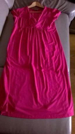 sukienka ciążowa Happy Mum rozm M różowa