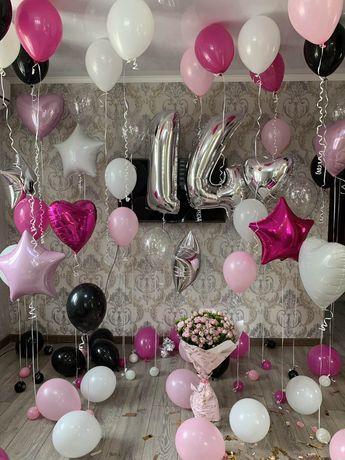 Повітряні Кульки Гелеві / Шарики /Фотозони з кульками /Букети з кульок