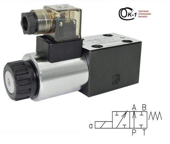 Elektrozawór Rozdzielacz RPE3-062A51 12V 24V 230V Ponar Parker Vickers
