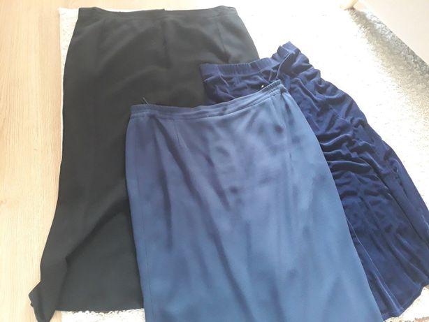Zestaw 3 spódnice rozmiar 48