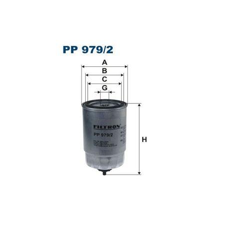 Filtr paliwa FILTRON PP979/2 - OKAZJA!
