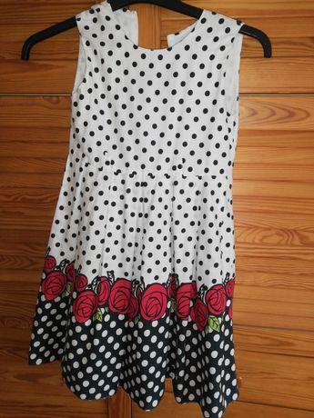 Sukienka dla dziewczynki 128 _134