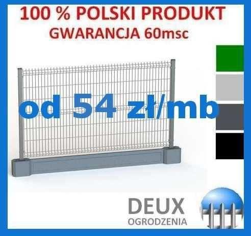 Panele ogrodzeniowe Ogrodzenia Panelowe Gorzów Wielkopolski GRAFIT