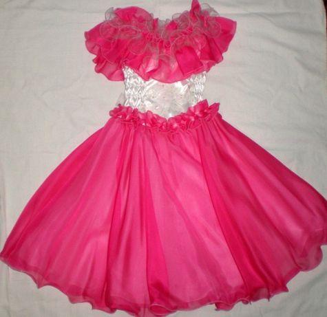 Нарядное платье На утренник Торжество Выпускной Бал в садик на 4-7 лет