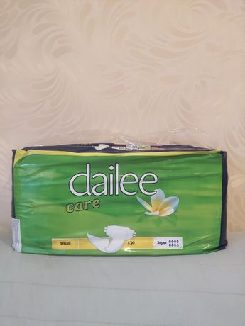 Памперсы dailee  в наличии
