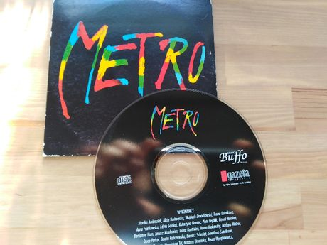 Metro, muzyka z musicalu, CD