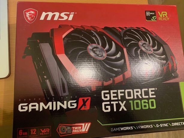 MSI PCI-Ex GeForce GTX 1060 Gaming X 6GB