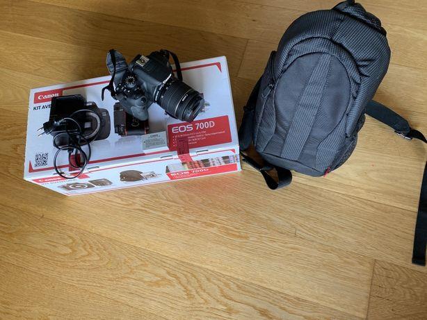 Vendo Canon 700D *praticamente nova* - Kit aventura