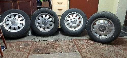 Audi A4 Alufelgi komplet  R15 5x112 ET45